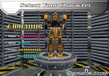 Counter force wii robotto domo selecto