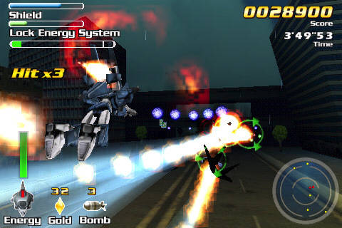 counter force wii screenshot