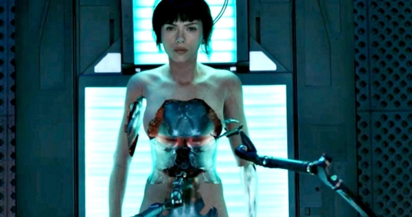 Ghost In The Shell 2017 in officina