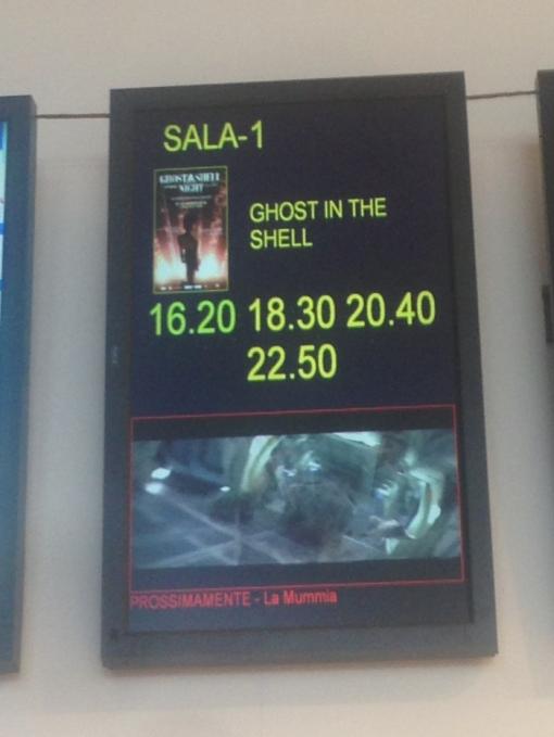 Ghost In The Shell 2017 refuso imbarazzante