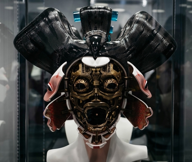 Ghost In The Shell 2017 robogeisha model