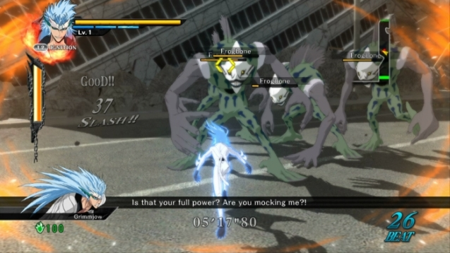 Bleach Soul Resurreccion PS3 grimmjow