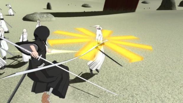 Bleach Soul Resurreccion PS3 rukia using kido