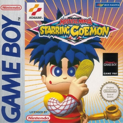Mystical Ninja Starring Goemon GB cover