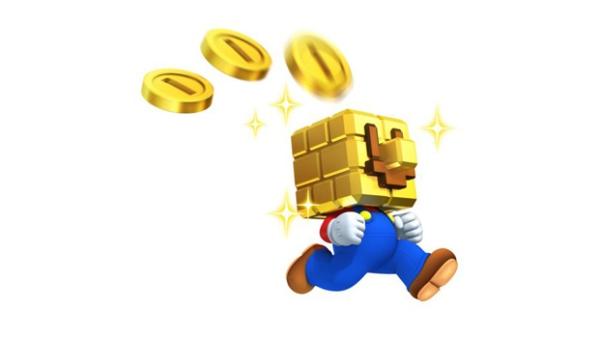 New Super Mario Bros 2 coin head