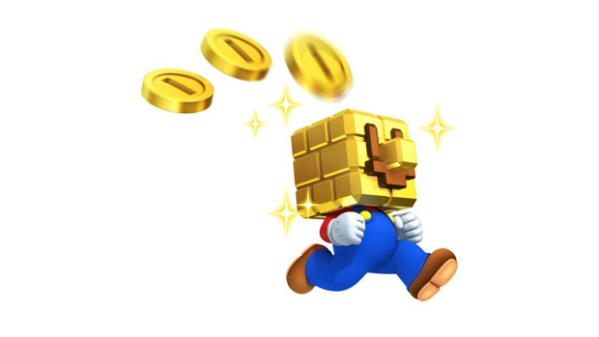 New Super Mario Bros 2 coin head