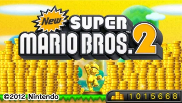 New Super Mario Bros 2 your fuckin reward