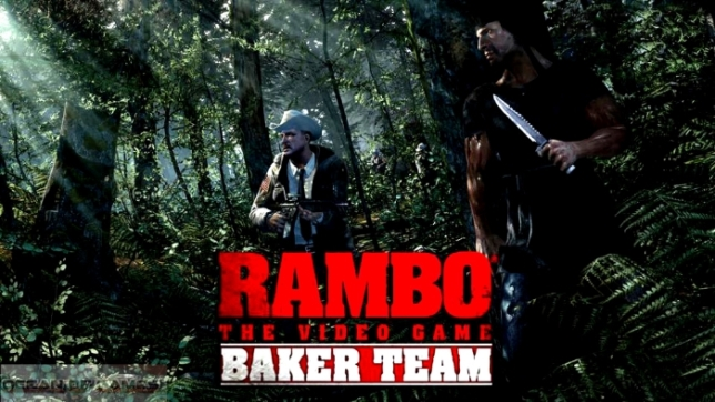 Rambo The Videogame PS3 baker team
