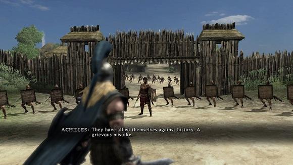 Warriors Legends Of Troy X360 achille lo stronzo