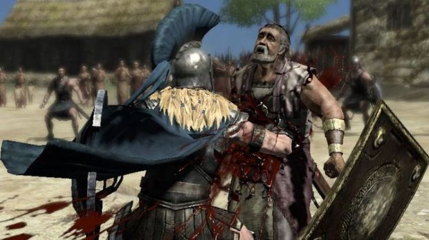 Warriors Legends Of Troy X360 blood because... because