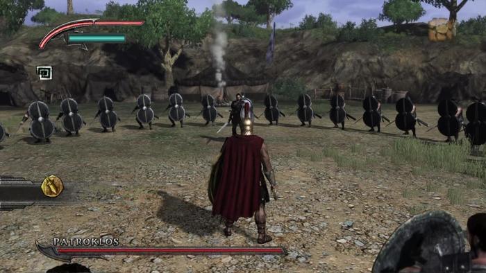 Warriors Legends Of Troy X360 boss fight-duel