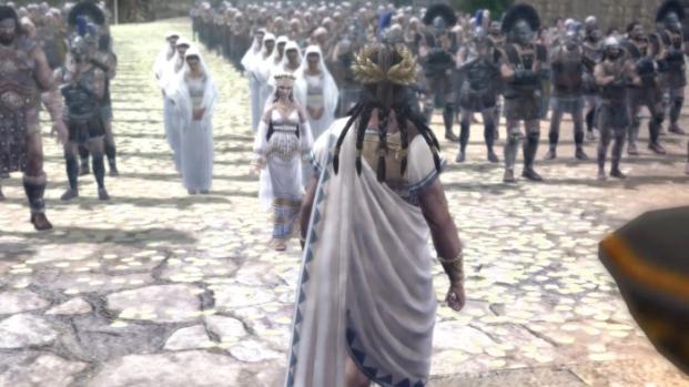 Warriors Legends Of Troy X360 cutscene