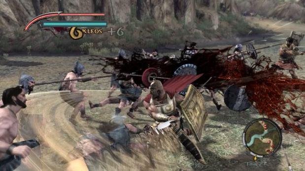 Warriors Legends Of Troy X360 hackin n slashing