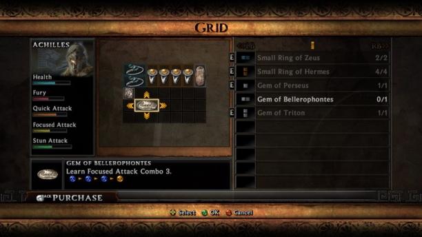 Warriors Legends Of Troy X360 item fiddling