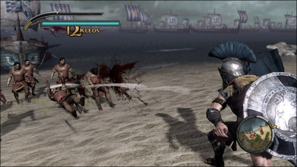 Warriors Legends Of Troy X360 throwing weapons