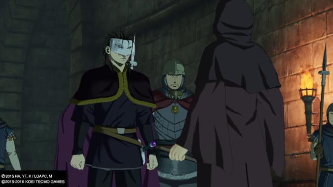 Arslan The Warriors Of Legend in-game cutscene
