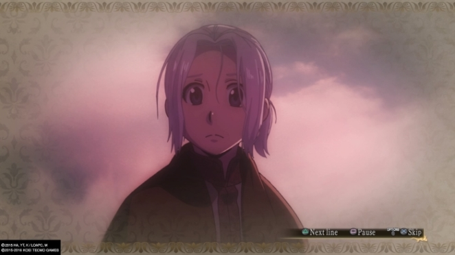 Arslan The Warriors Of Legend we have the anime footage, sir