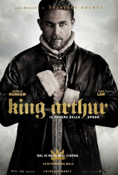 King Arthur il potere della spada 2017 locandina