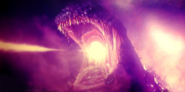 Shin Godzilla 2016 lazer breath