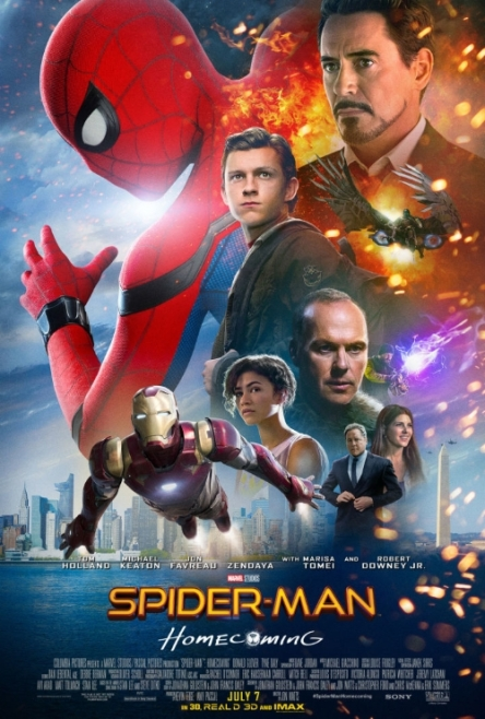 Spiderman homecoming 2017 locandina