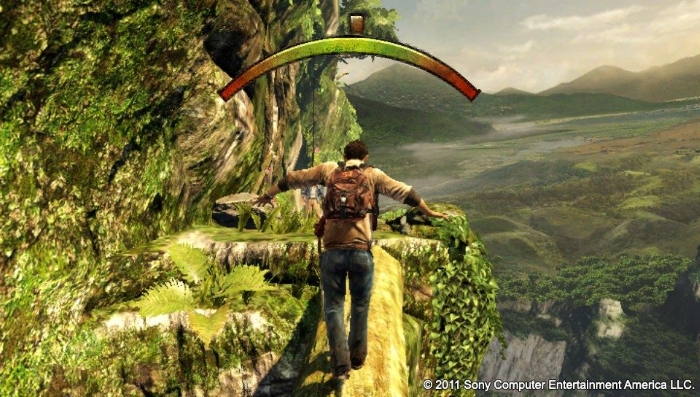 uncharted golden abyss the dreaded motion control log