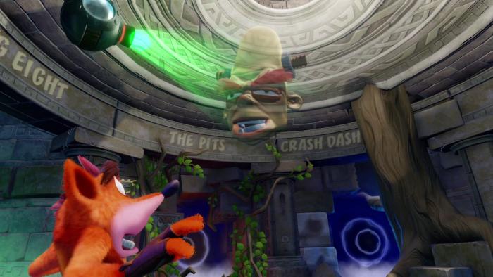 Crash Bandicoot N Sane Trilogy brio and the holograms
