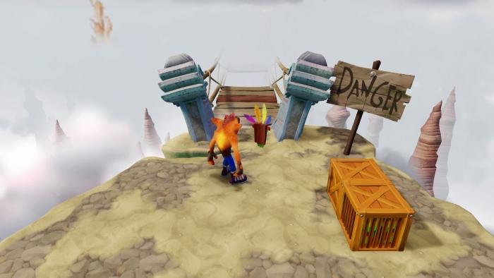 Crash Bandicoot N Sane Trilogy le madonne nella nebbia