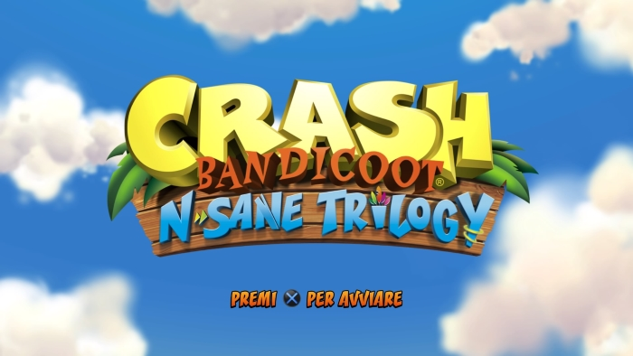 Crash Bandicoot N Sane Trilogy logo