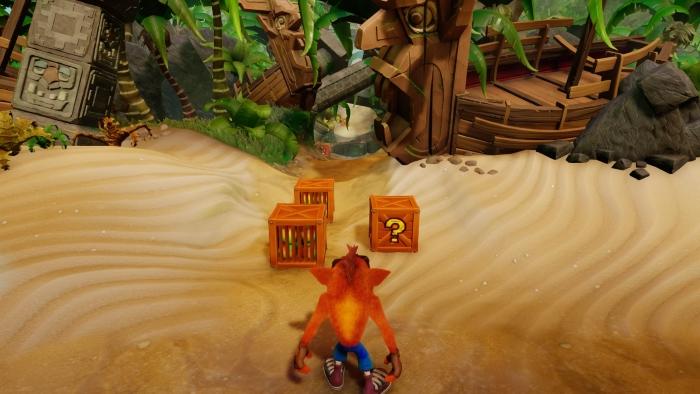 Crash Bandicoot N Sane Trilogy n sanity beach