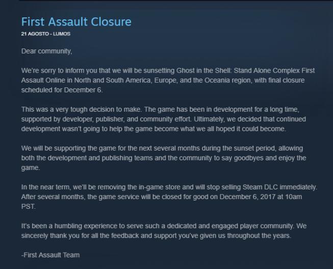 GITS SAC first assault closure