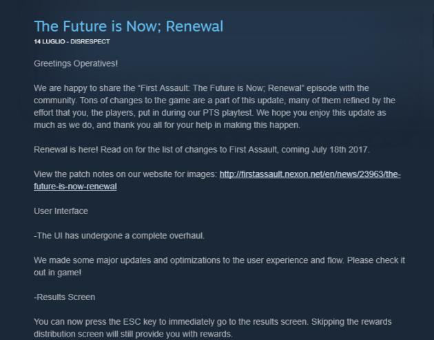 GITS SAC First Assault renewal update