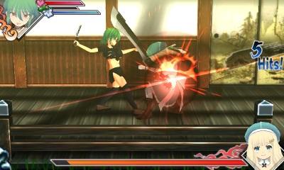 Senran Kagura Burst gameplay, yep 2