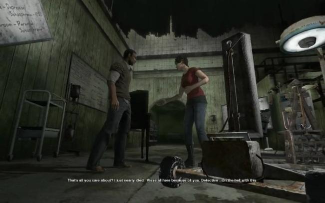 Saw The Videogame x360 cutscene