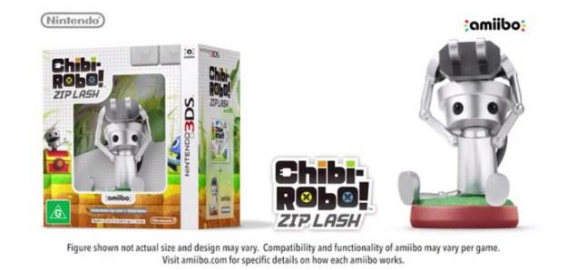 Chibi Robo Zip Lash amiibo bundle