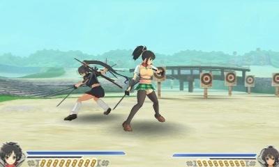 Senran Kagura 2 Deep Crimson gameplay