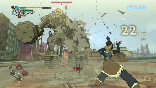 The Legend Of Korra PS3 gameplay