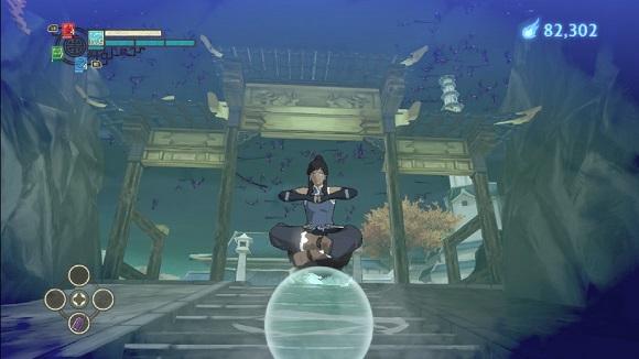 The Legend Of Korra PS3 levitatin