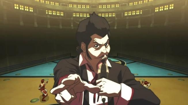 The Legend Of Korra PS3 Pro Bending announcer