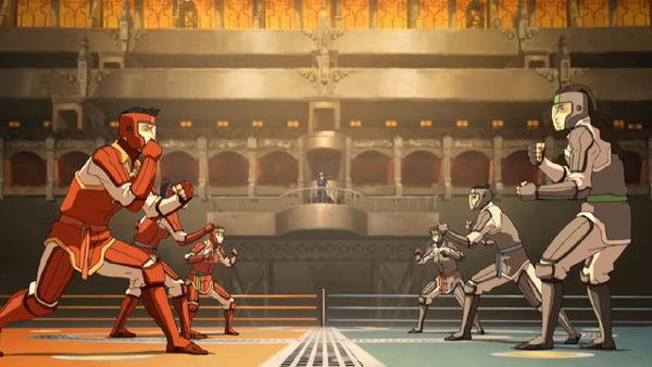 The Legend Of Korra PS3 pro bending cinematic
