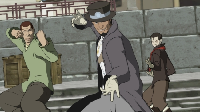 The Legend Of Korra PS3 the three douches of the recyclocalypse