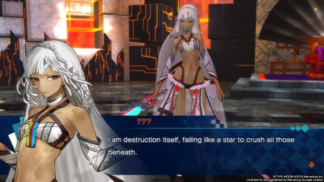 Fate Extella flagello di dio