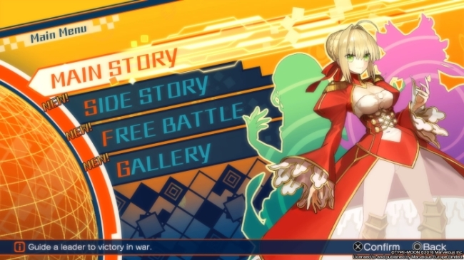Fate Extella modes