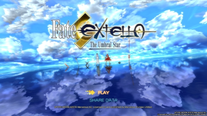 Fate EXTELLA
