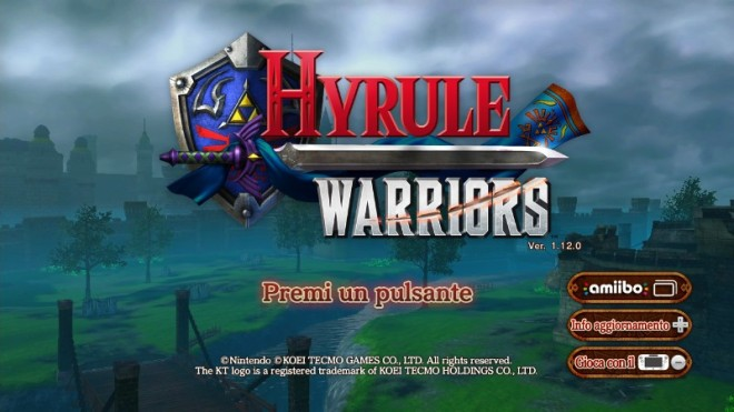 Hyrule Warriors WIIU logo