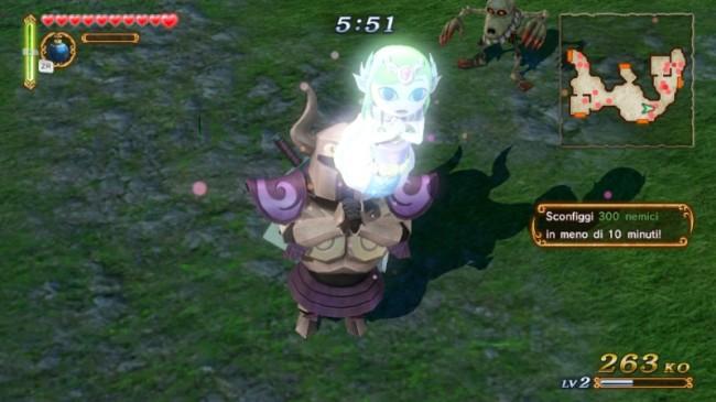 Hyrule Warriors WIIU toon zelda musou attack