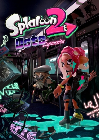 Splatoon 2 Octo Expansion art