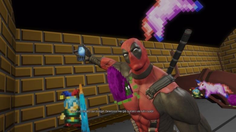 Deadpool The Videogame PS4 dem budget jokes