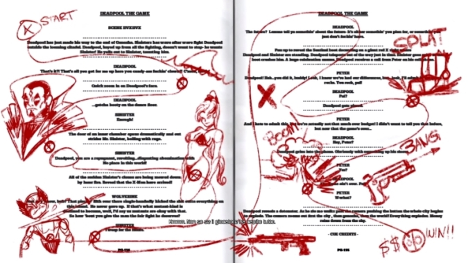 Deadpool The Videogame PS4 storyboarding.jpg