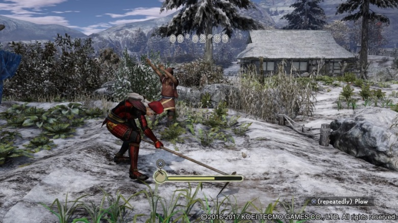 Samurai Warriors Spirit Of Sanada PS4 farm minigame.jpg