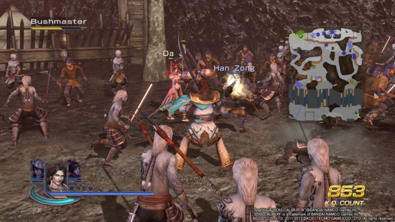 Warriors Orochi 3 Ultimate PS4 gameplay.jpg